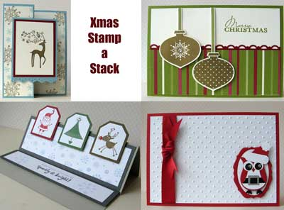 Christmas Stamp-a-stack