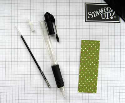 dismantled pen