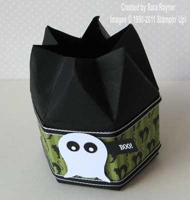 Halloween box - open