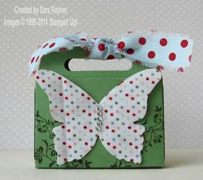 Fabric embellished purse