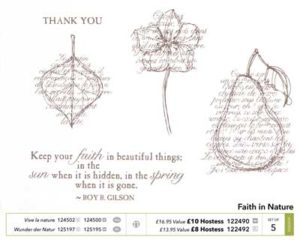 faith in nature stamp set