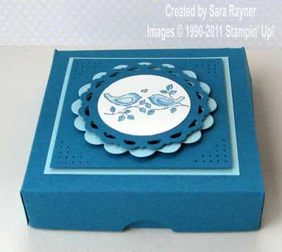 mini box of cards
