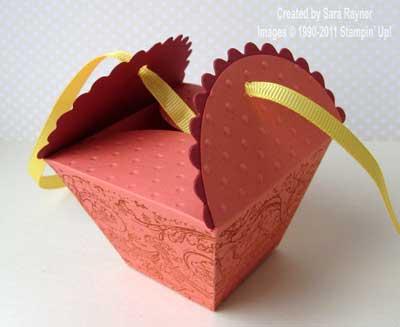 petal cone die box