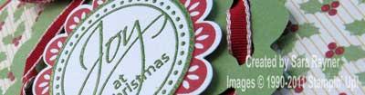 xmas wreath - close up