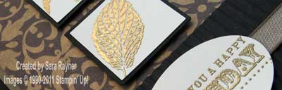 gold french foliage - close up