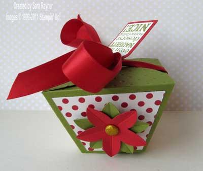 petal cone die box - completed