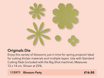 blossom party die
