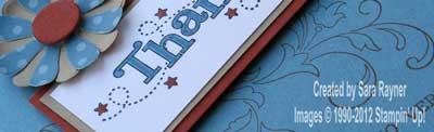 January thank you card close up