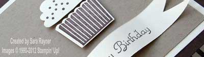 male cupcake card close up