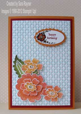 array flower card
