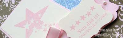 female congrats card close up