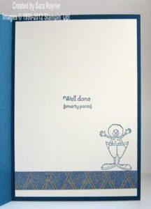 male congrats card inside