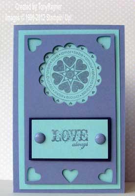guest valentine card
