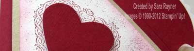 valentine bag close up