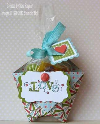 non-traditional valentine pouch