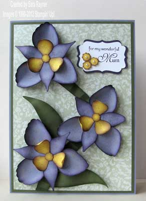orchid card for mother's day