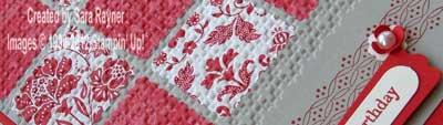 quilt card close up