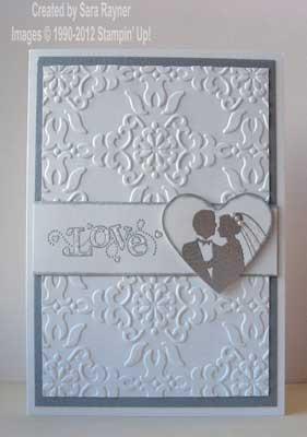 SAB wedding card