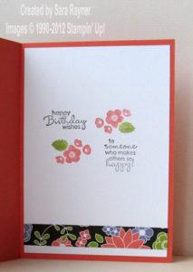 A gem of  a card inside