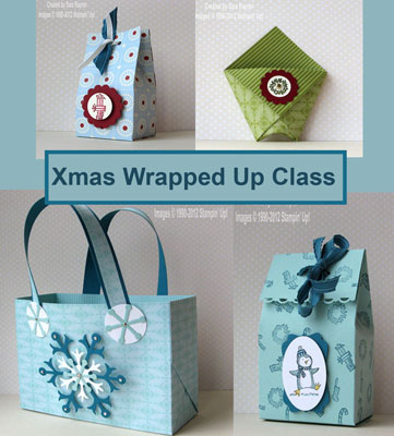 xmas wrapped up online class