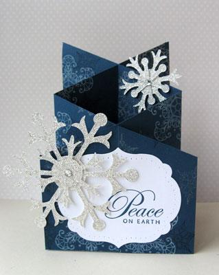 snowflake cascade card open