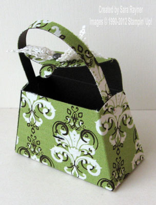 fabric purse open