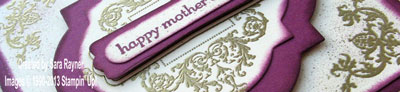 affection collection mothers day card close up