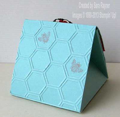 honeycomb box back