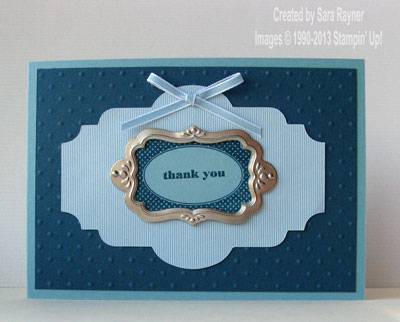 tag thanks card
