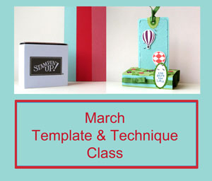 March Template & Technique Class