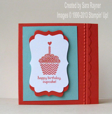 patterned occasions mini card