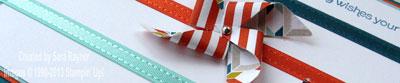 pinwheel mothers day card close up