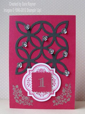 silver 1 congrats card