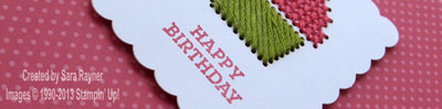 sweet threads card close up