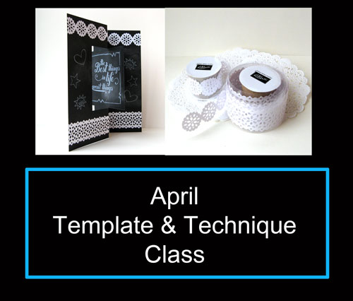 Template And Technique Class April