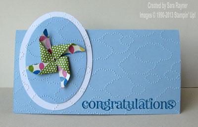 pinwheel congrats