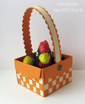 scallop envelope basket