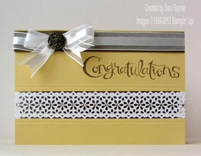 lace tape congrats