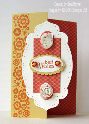 apothecary accent birthday card