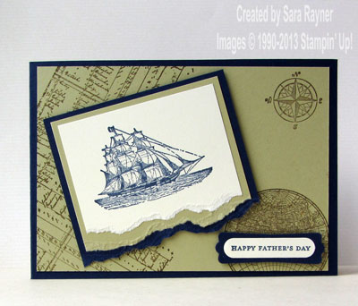 open sea fathers day card