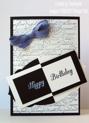 en francais birthday card