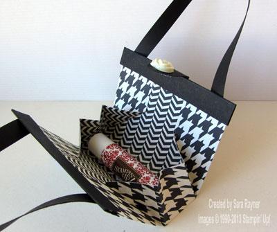 modern bag inside