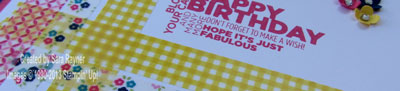 washi tape close up