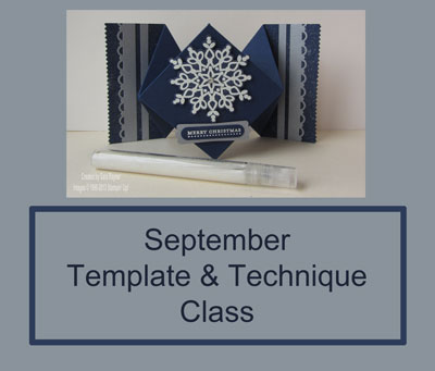 Template And Technique Class September