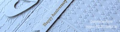 anniversary close up