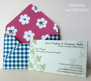 dinky envelope