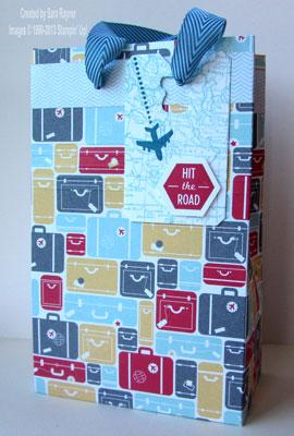 around the world gift bag