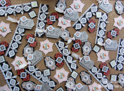 card candy pieces