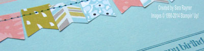 banner punch close up