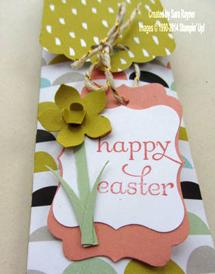 easter tag topper label